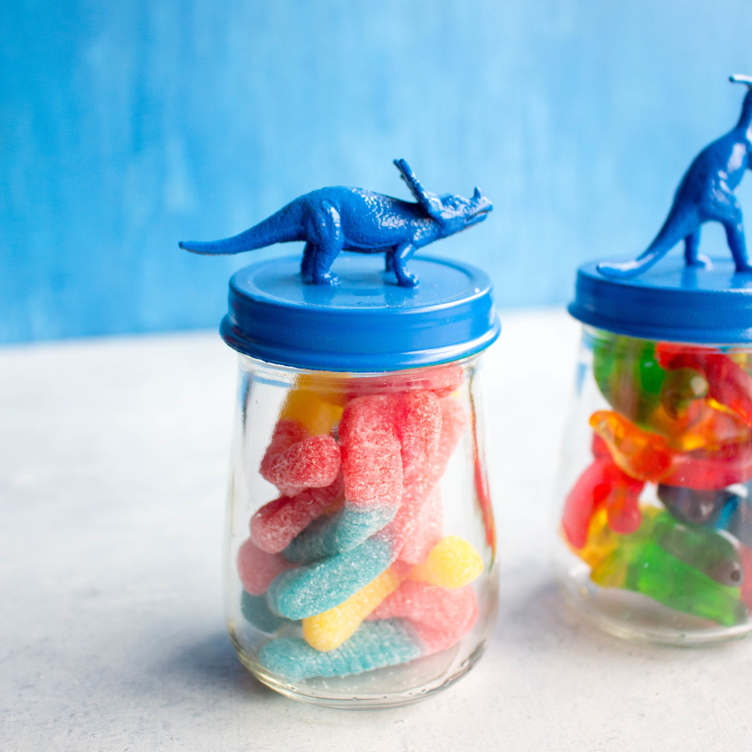 Dinosaur Candy Jars