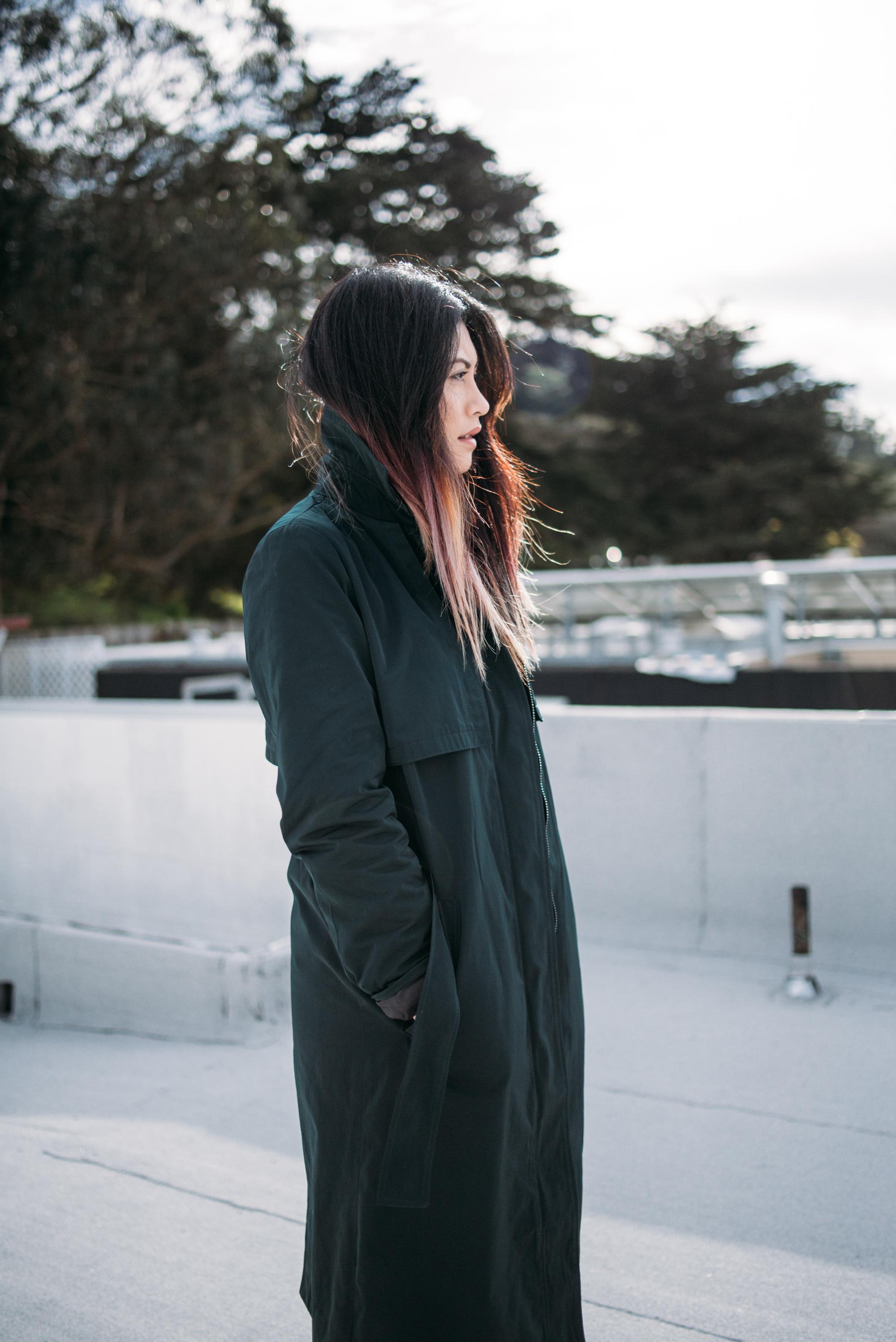melissademata.com | ZARA Trench Coat