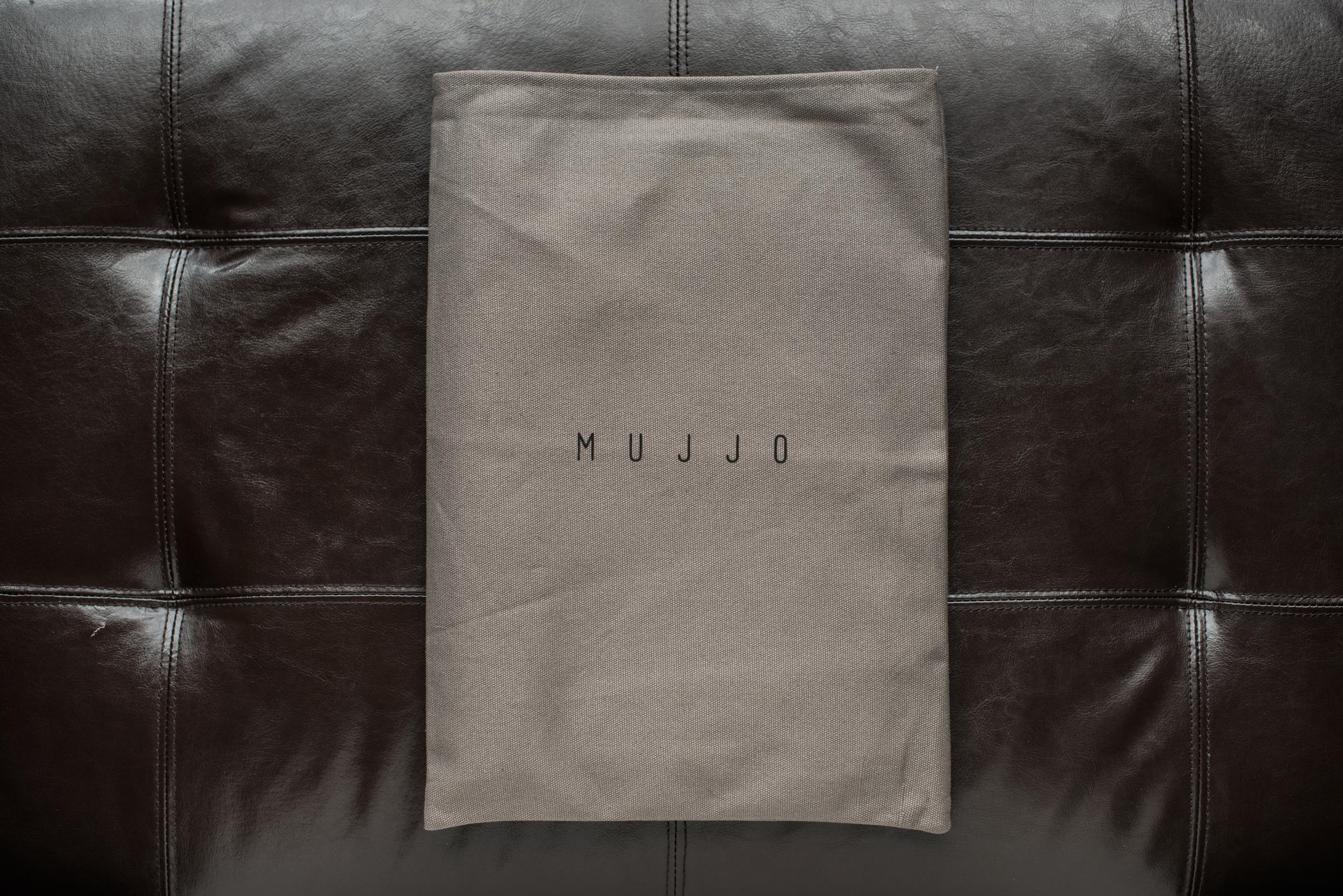 Click to shop MUJJO
