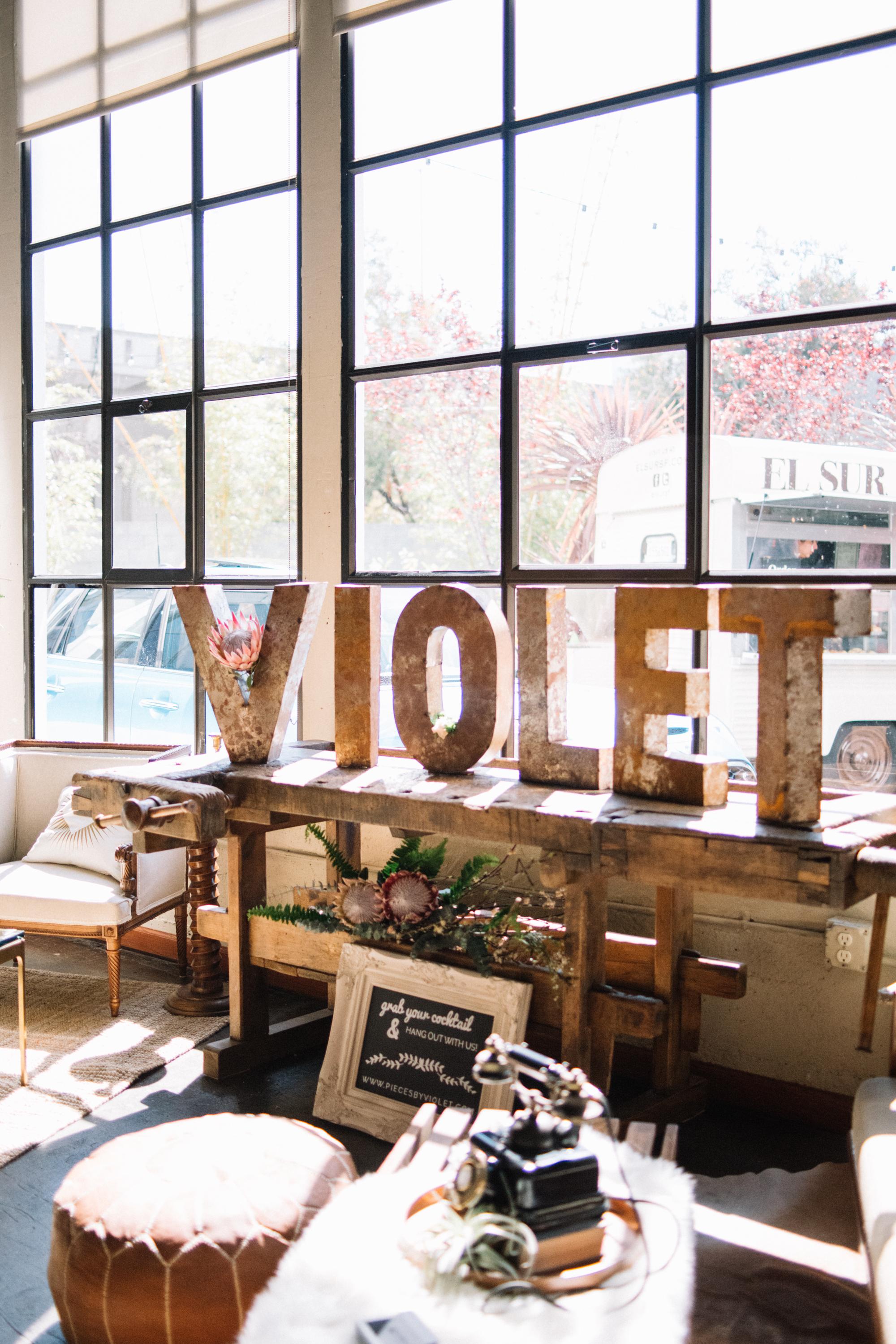 Pieces by Violet Vintage Rentals