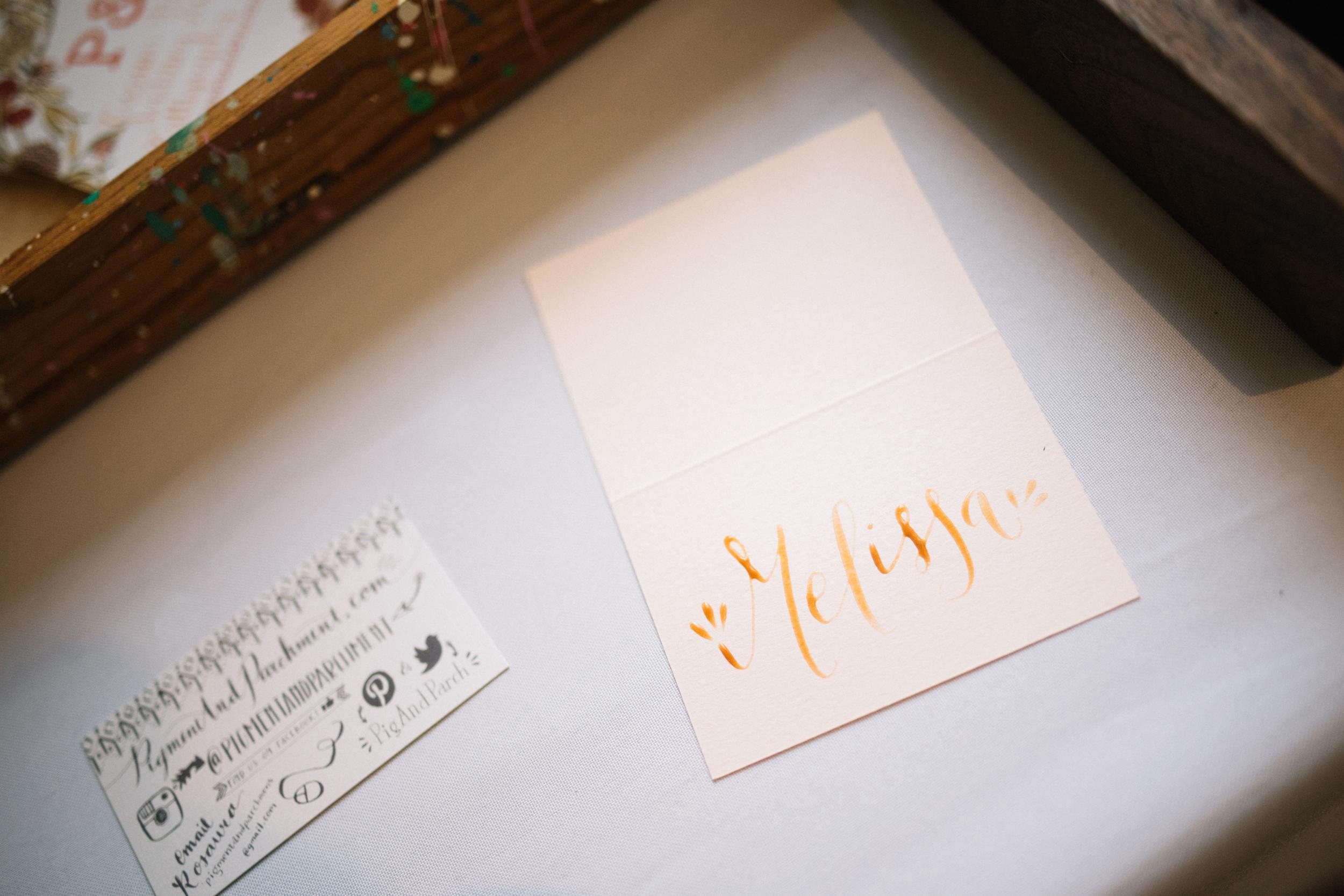 Pigment & Parchment Calligraphy