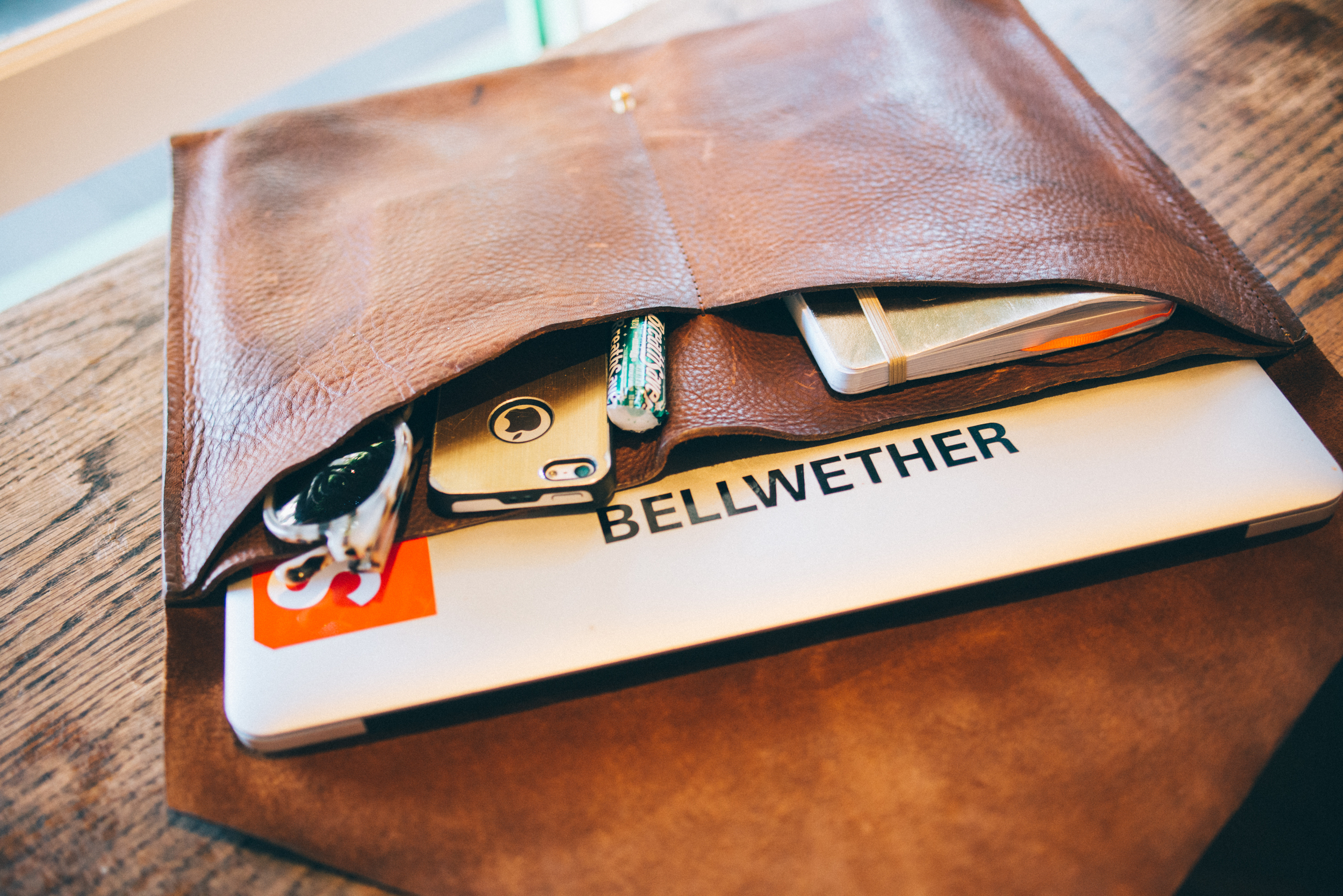 melissademata.com | The Bellwether Project Leather Portfolio