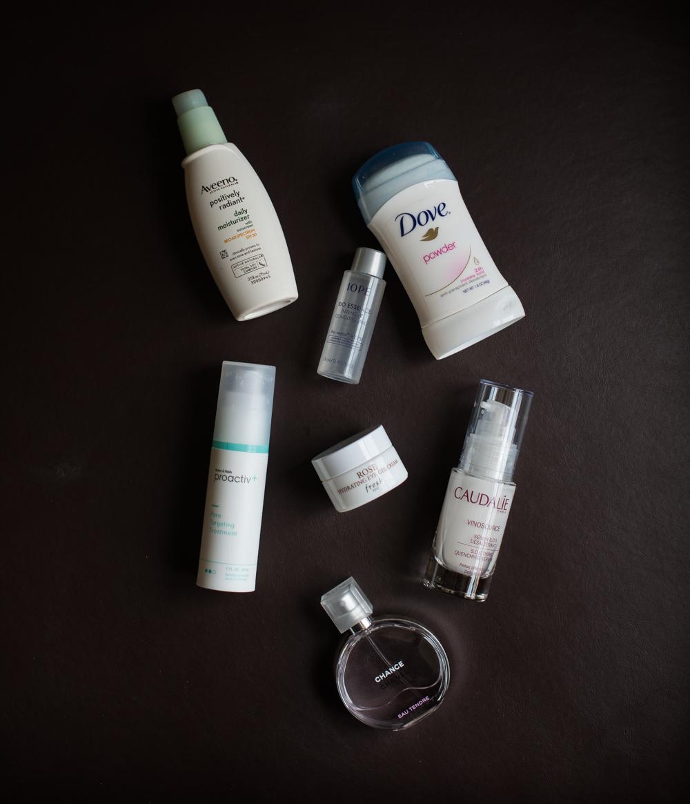 melissademata.com | Travel Skincare Favorites