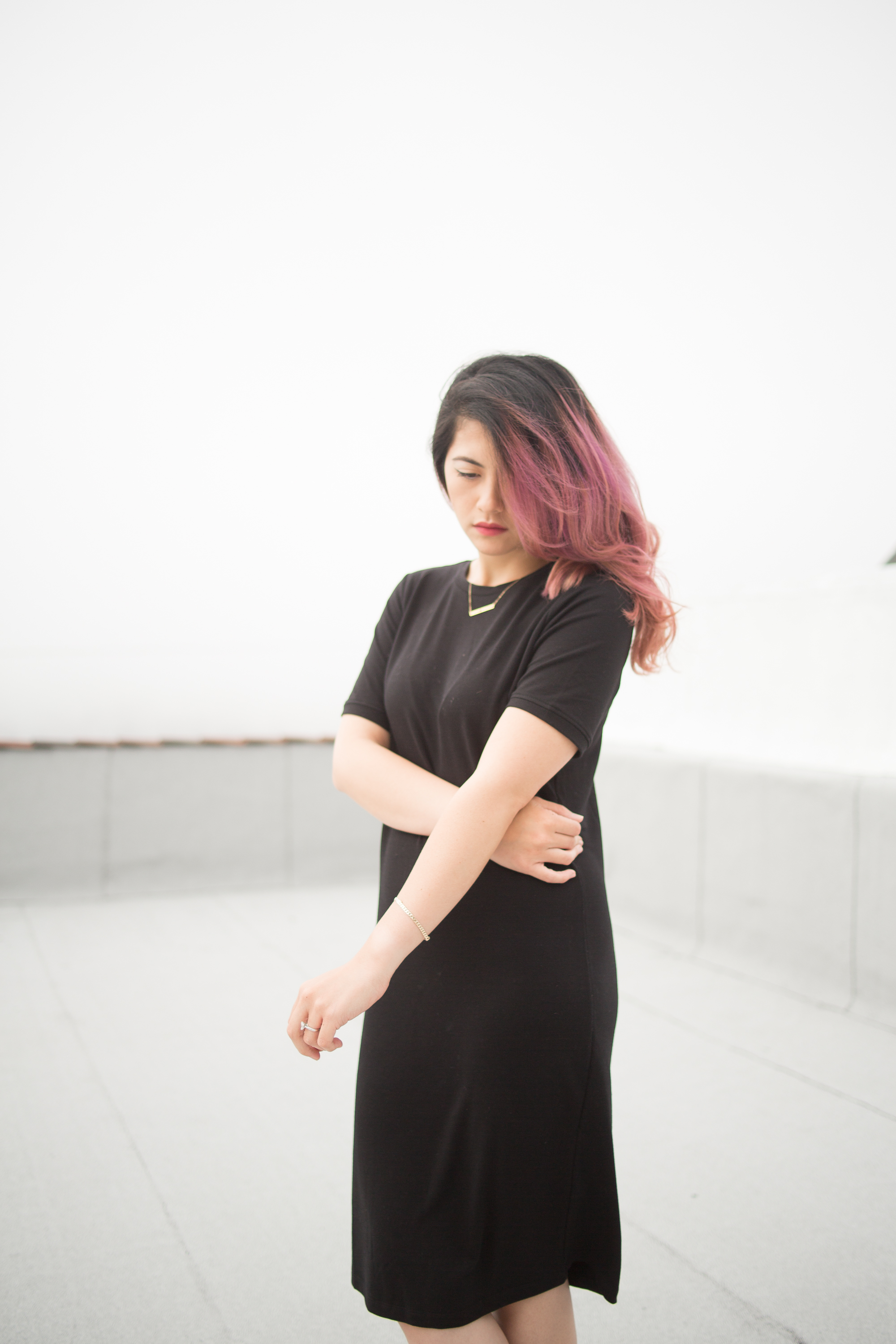 melissademata.com | Pink Purple Ombre Hair