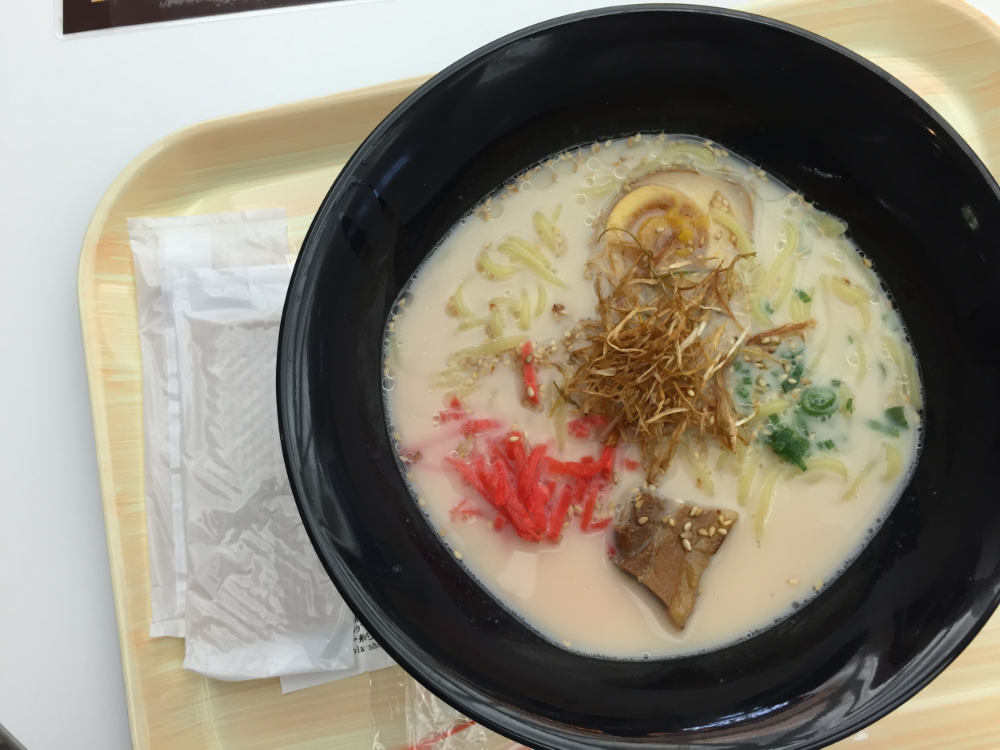 Narita Airport, Japan = BOMB FOOD | One of the best ramen I've tried.