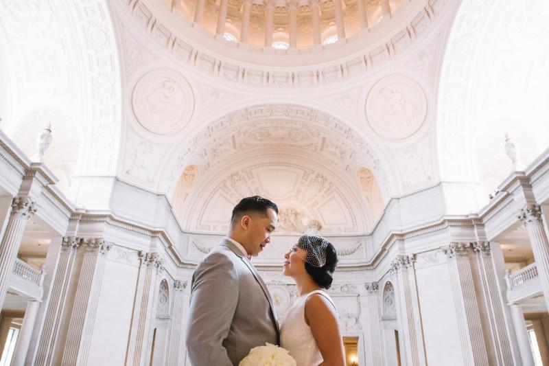melissademata.com | SF City Hall Wedding Photographer