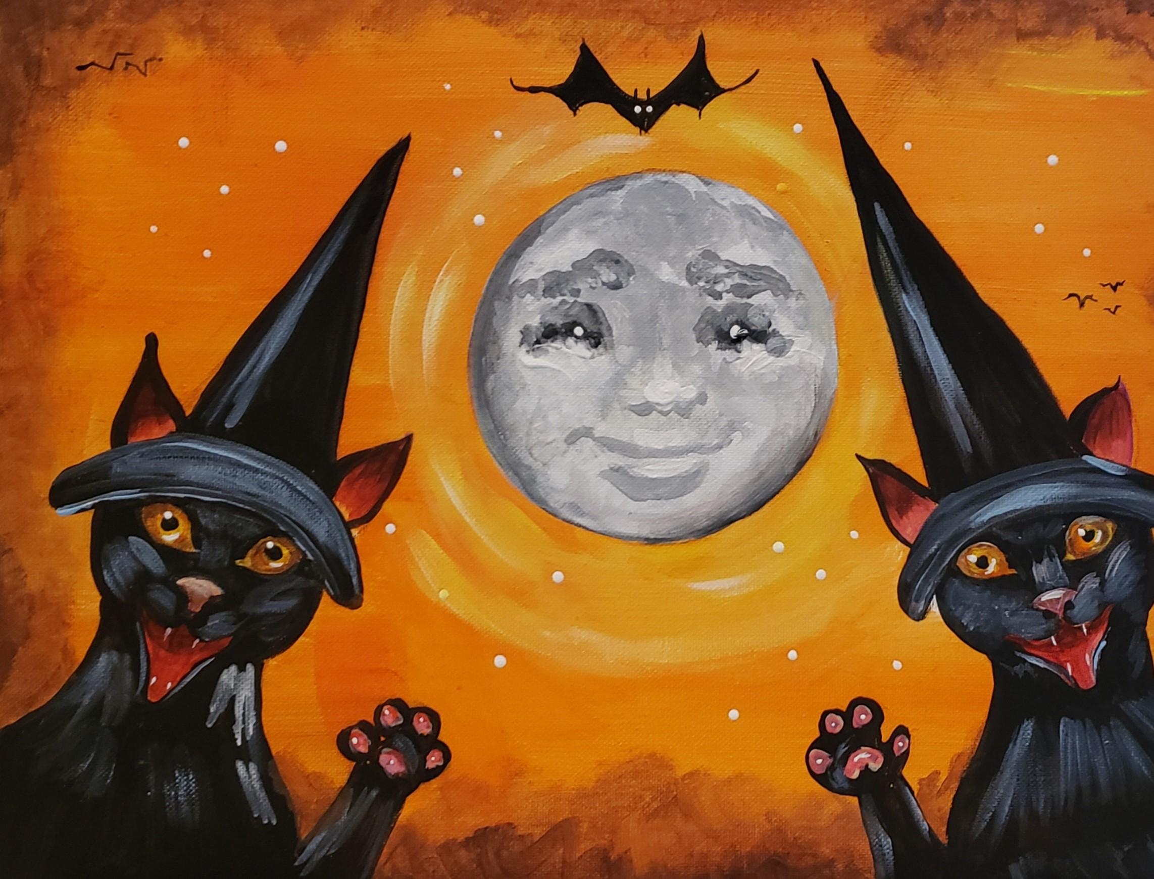 Full Moon Halloween Cats.jpg