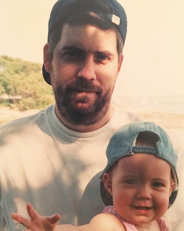 Me and Dad, kickin it per usual
