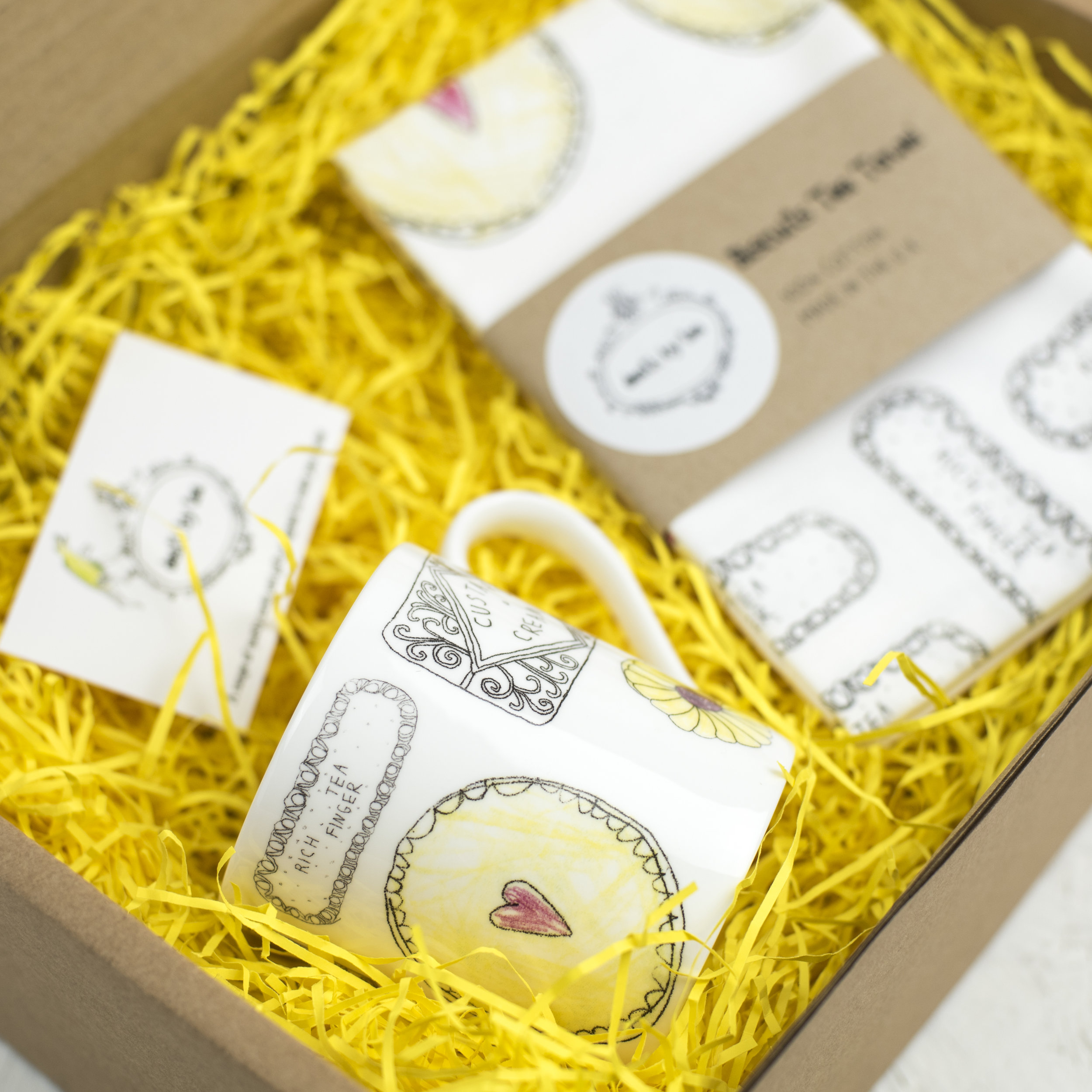 Mug & Tea Towel Gift Set