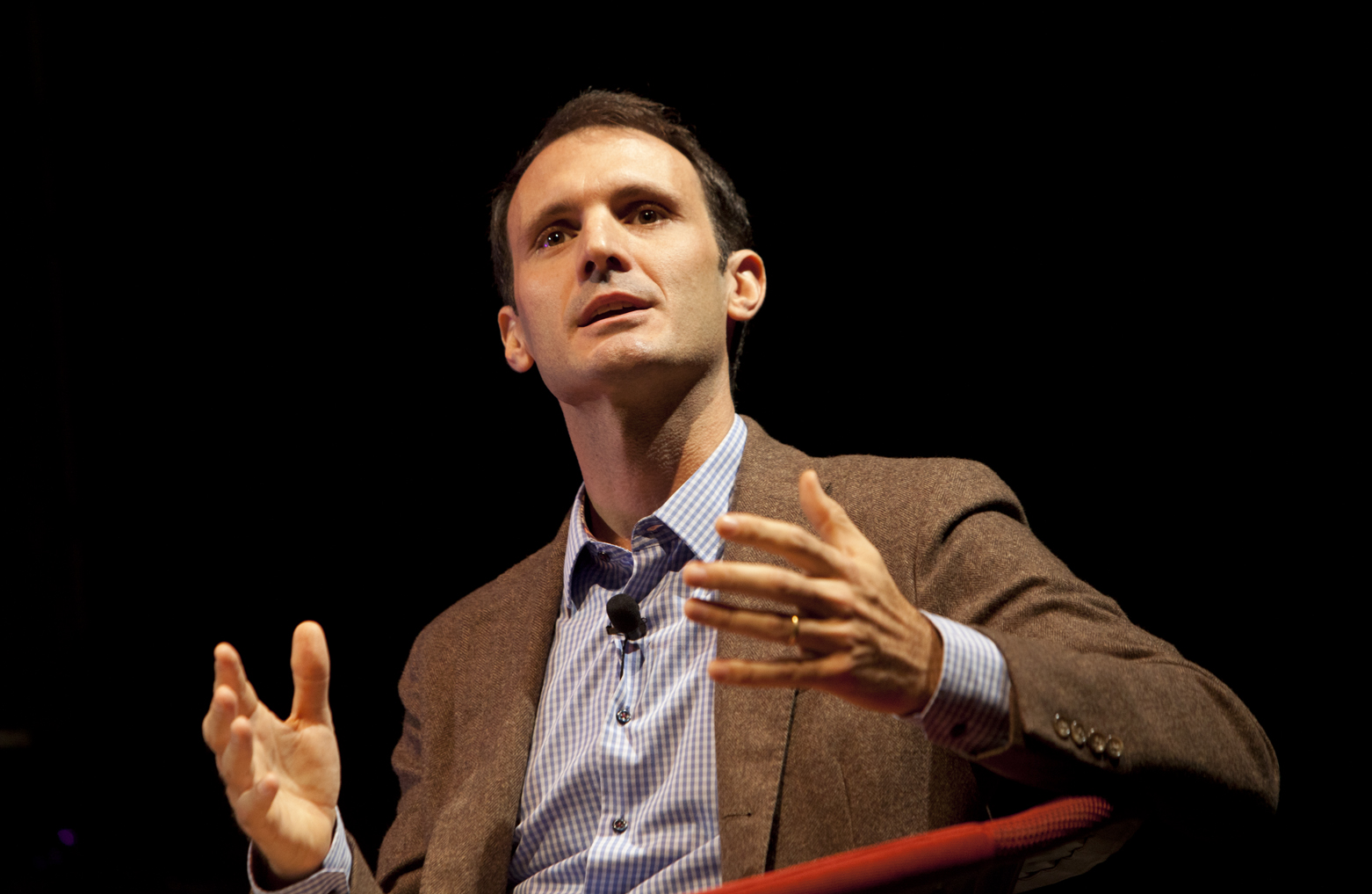 Image of Stephen Cave at IdeaFestival 2014, Geoff Oliver Bugbee