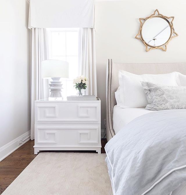 Time to rest up this weekend because #ATLMKT starts next week at @americasmartatl ! See you there! 😎@marketplacefordesign @worldsaway1  #repost @worldsaway1 ・・・ This comfy bedroom has us on cloud nine! ☁️Pictured is our Wrenfield chest.  Design by @juliecouchinteriors 📸: @kristen.mayfield