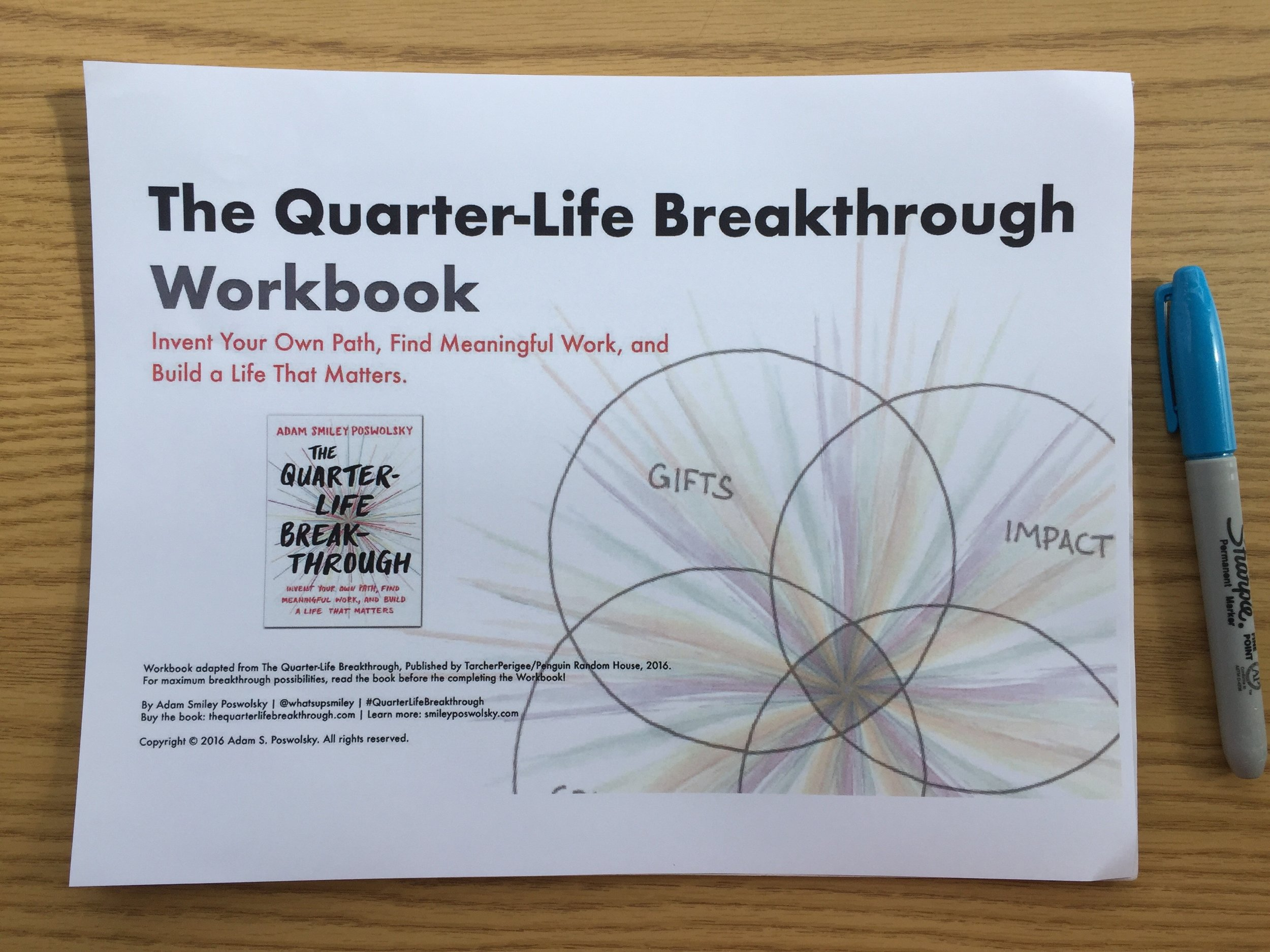 Quarter-Life Breakthrough Workbook