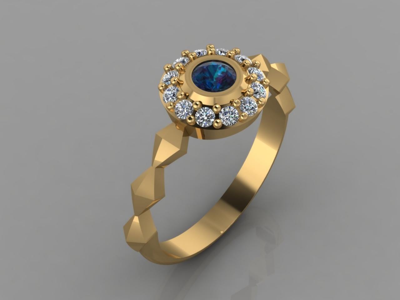 Sapphire & Diamonds Pyramids