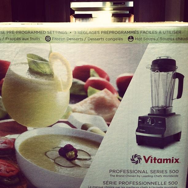 new vitamix