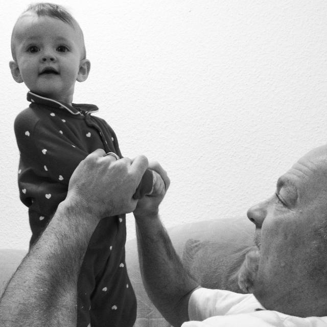 Sloane and papa