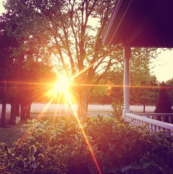 sunset may 30