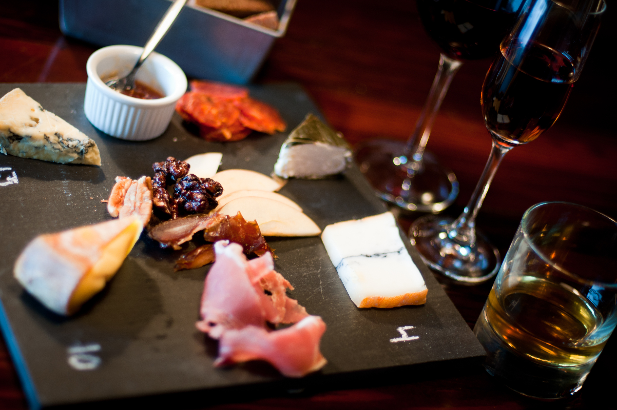 artisanal cheese meat plates