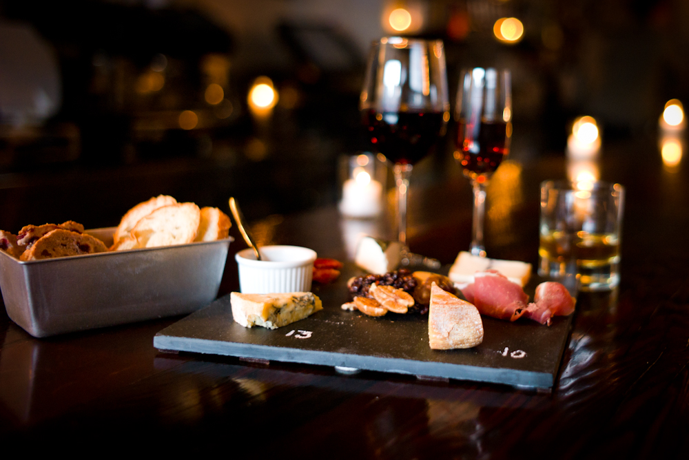 Artisanal cheese and meat platters