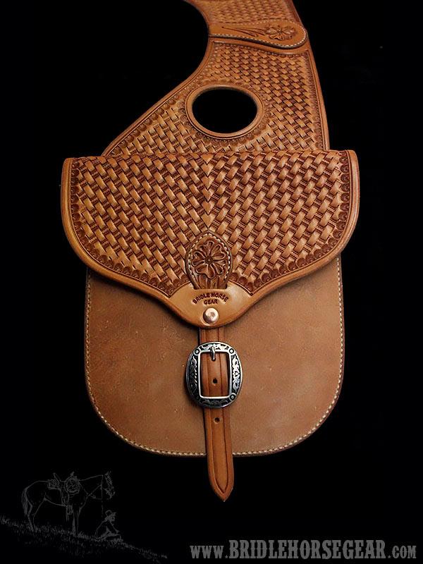 Hermann Oak Leather Saddle Bags
