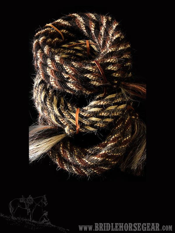 horsehair mecate handmade by brad cameron