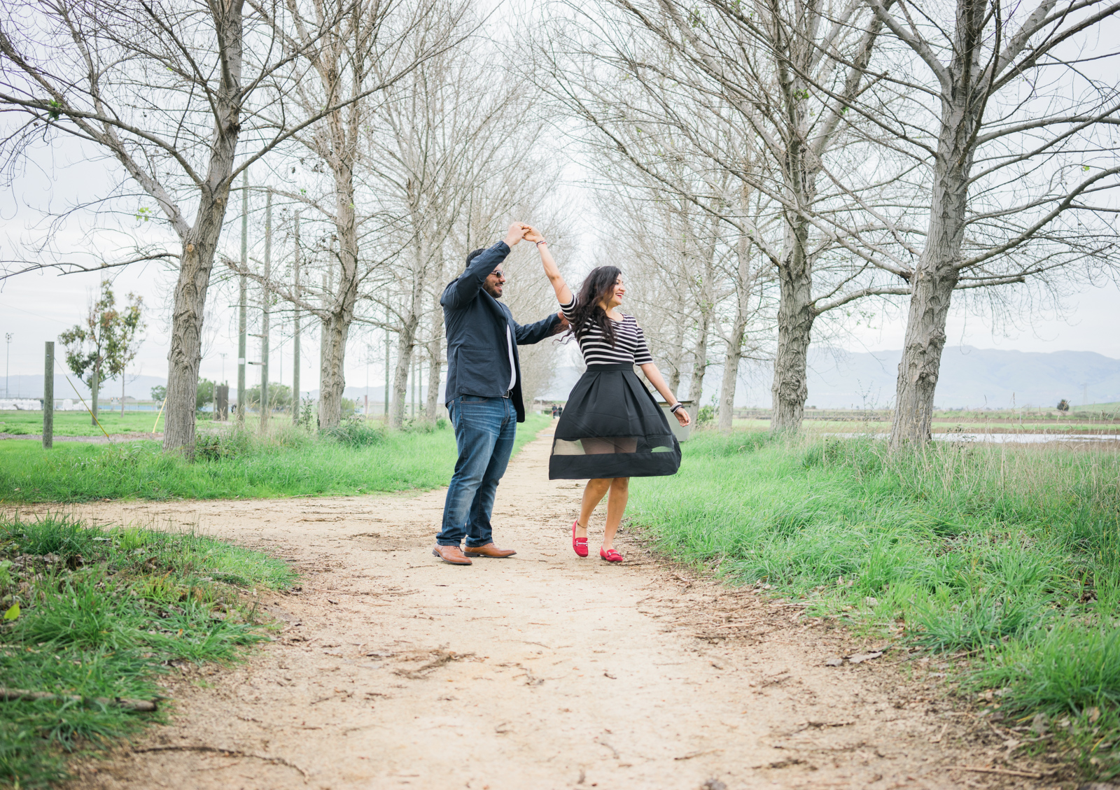 The Waltzing Couple