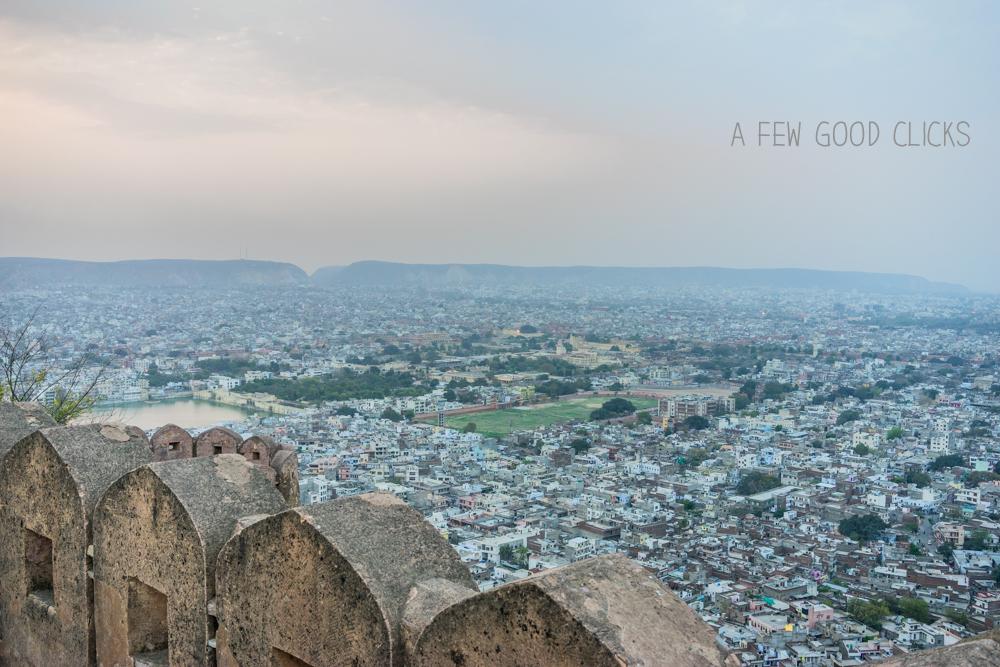 View of Jaipur from Nahargarh RDB (Rang De Basanti point)