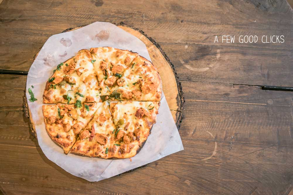 Nibs Jaipur serves soy pickled pizza - A must try for Indo-Italian food lovers!