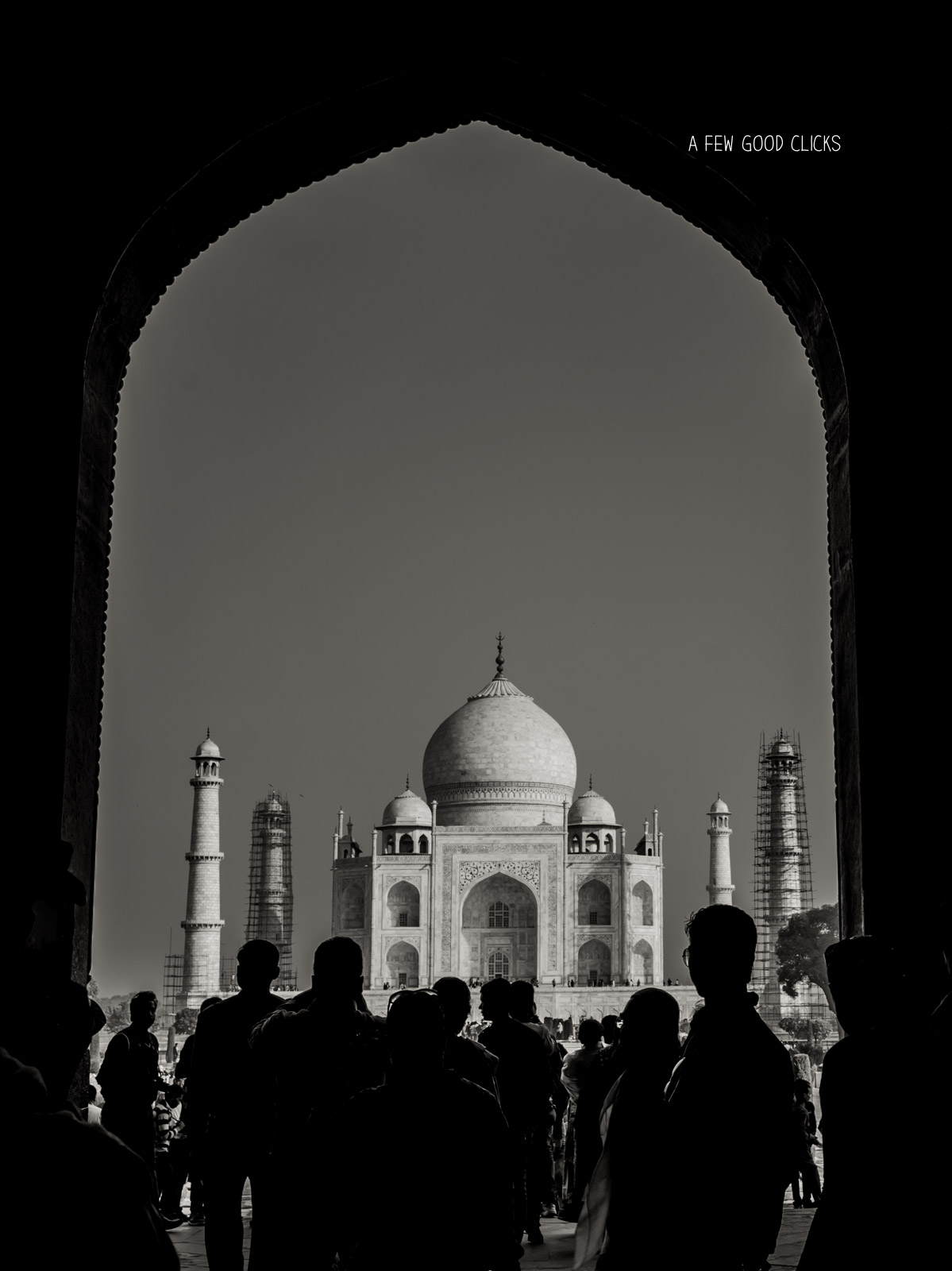 "The first glimpse of Taj through the grand entrance would make you utter, ""Wah Taj Wah""."