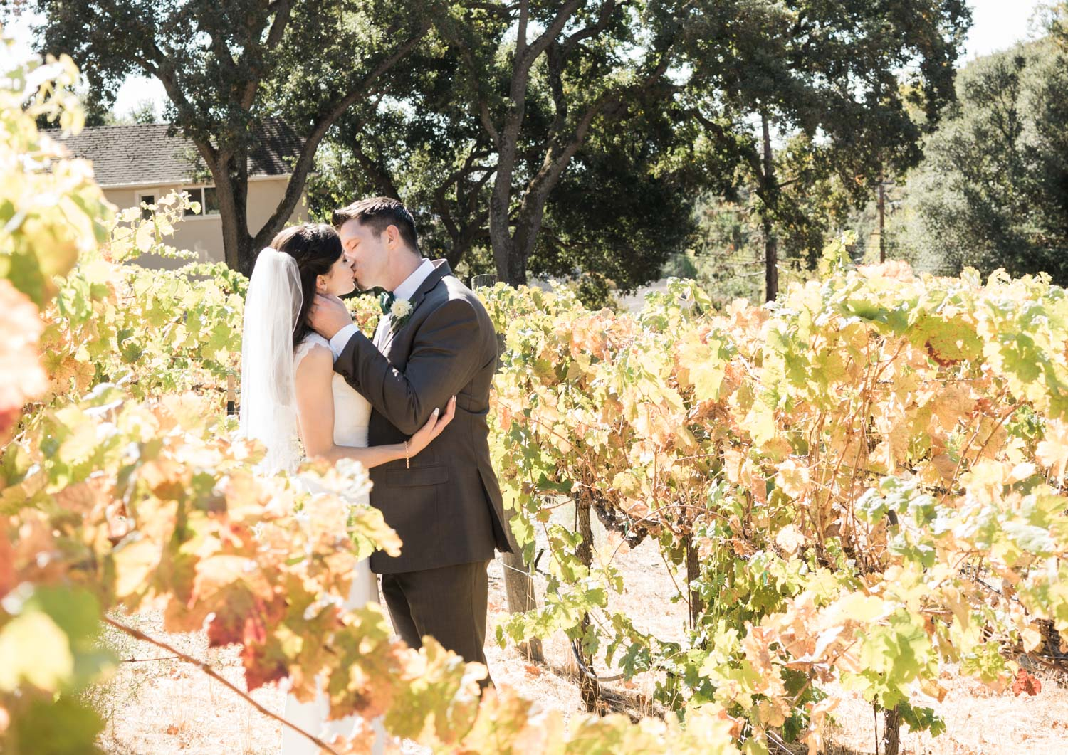 Creative wedding photo ideas for a wedding you may shoot in a winery.