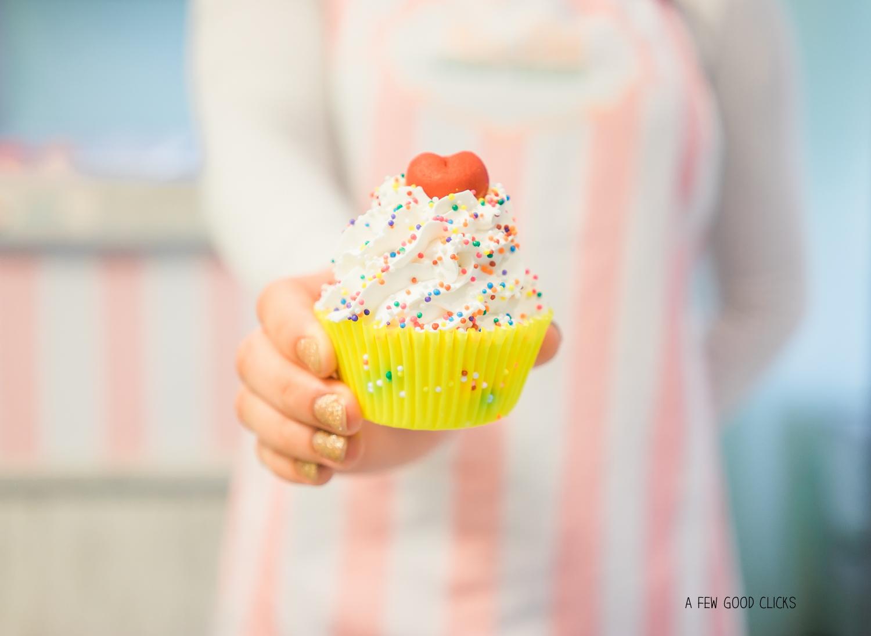 Vanilla Birthday Cupcake at Nectar USA