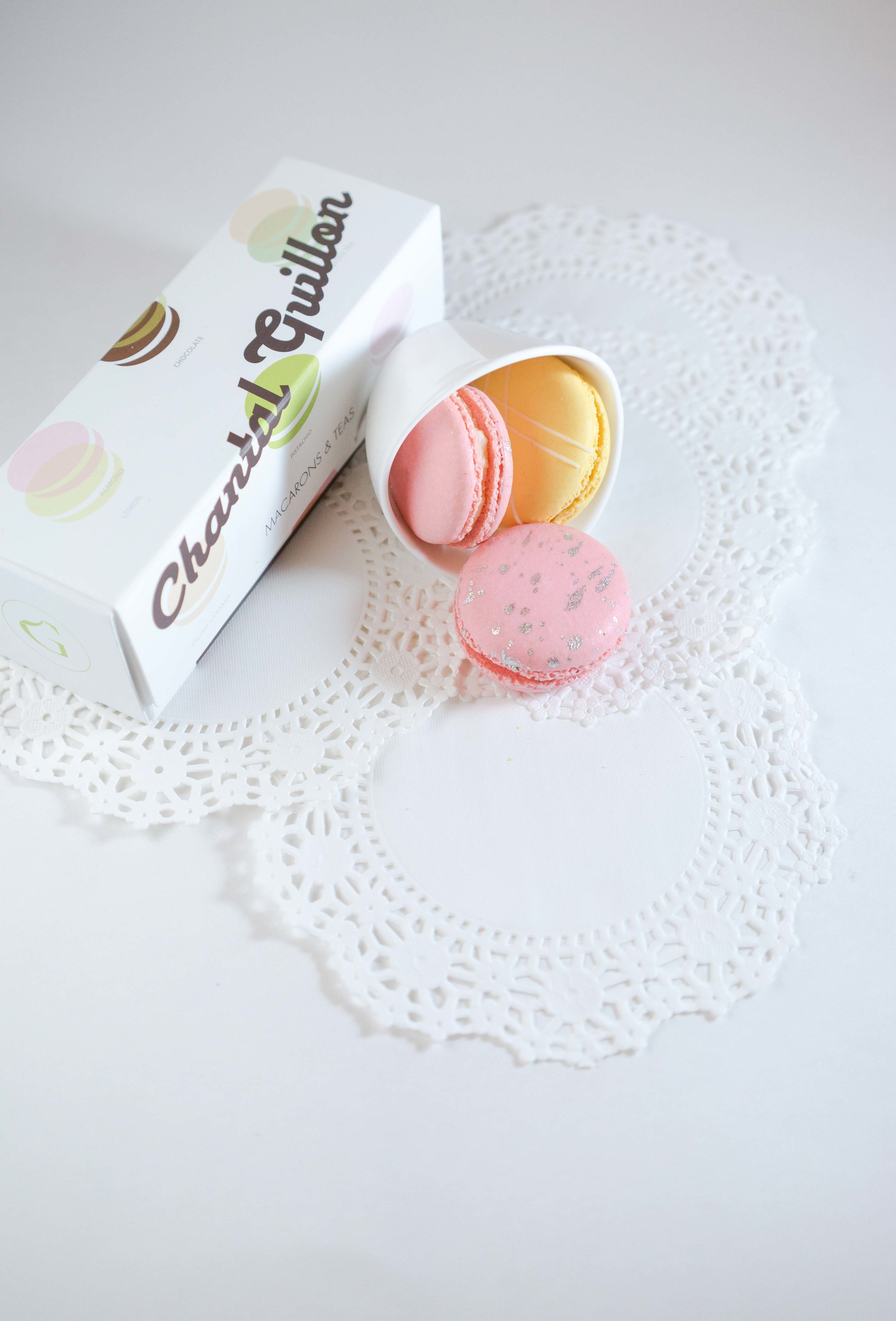 Pineapple with Cherry blossom Macaron flavour |  Photography by A Few Good Clicks