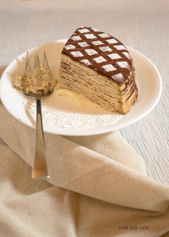 The Winner takes it all - Tiramisu Crepe Cake