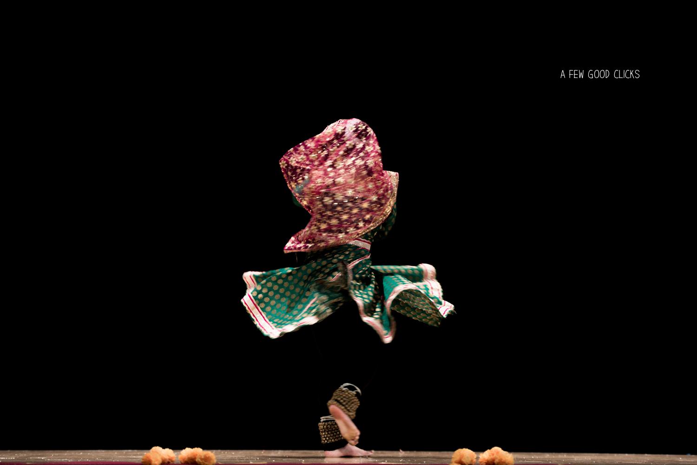 Kathak Dance Event Photography