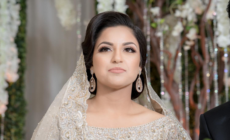 Gleaming bride | Muslim Wedding Ceremony Photography