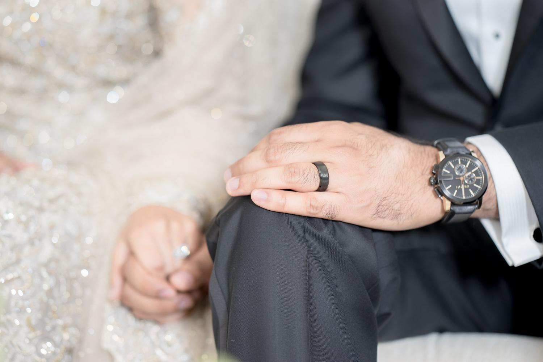 Nikah | Vows taken during Muslim Wedding at the Marriott Fremont, CA