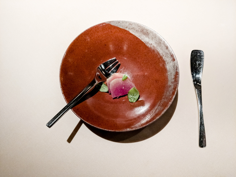 salt-baked-radish-with-eggplant-caviar-ginger-menu-manresa