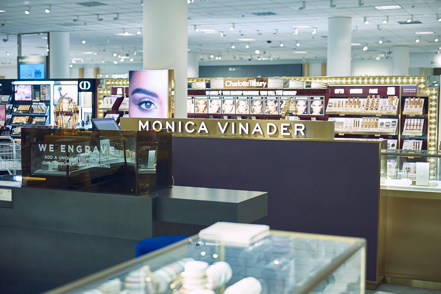 Image of Monica's shop at Nordstrom.