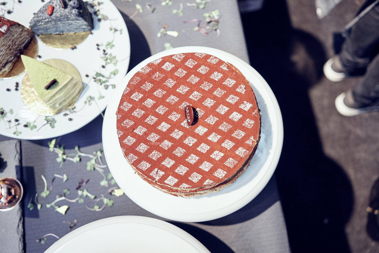 Tiramisu flavour Mille Crepe Cake