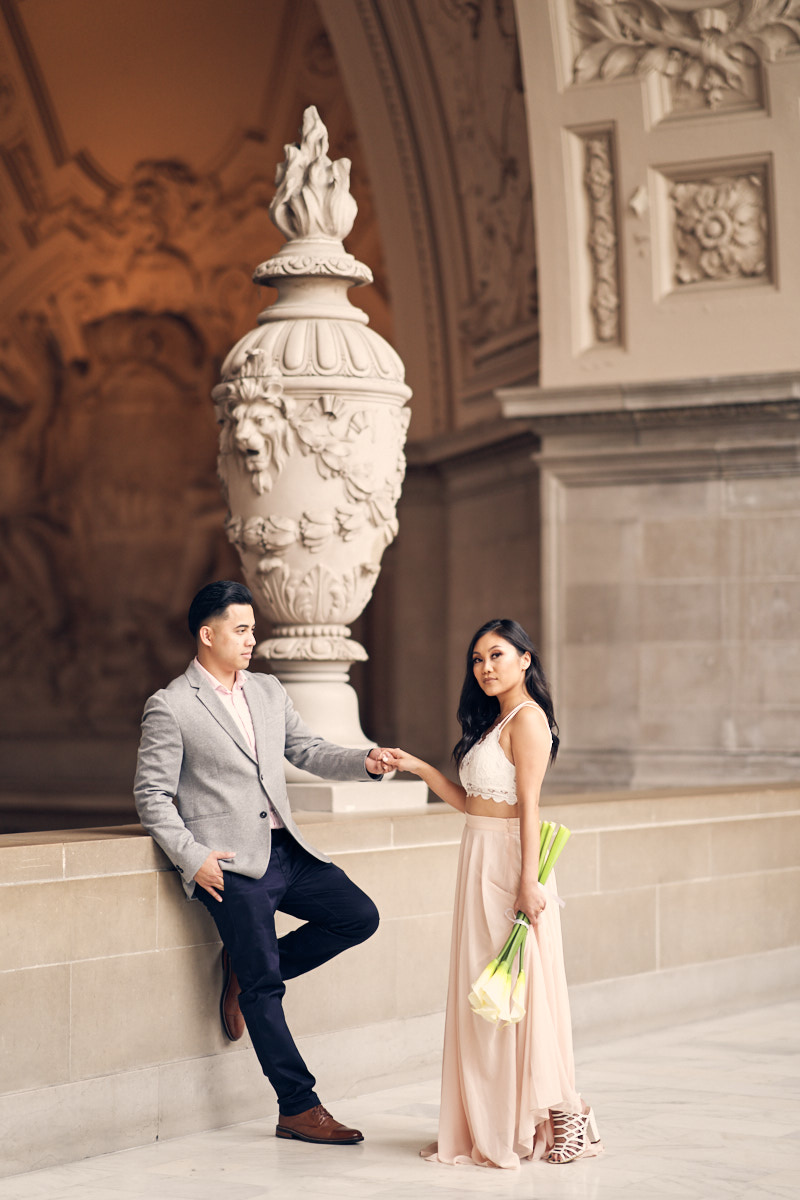 Outfit inspiration for your pre-wedding shoot - Pastels and neutrals are a clear winner.