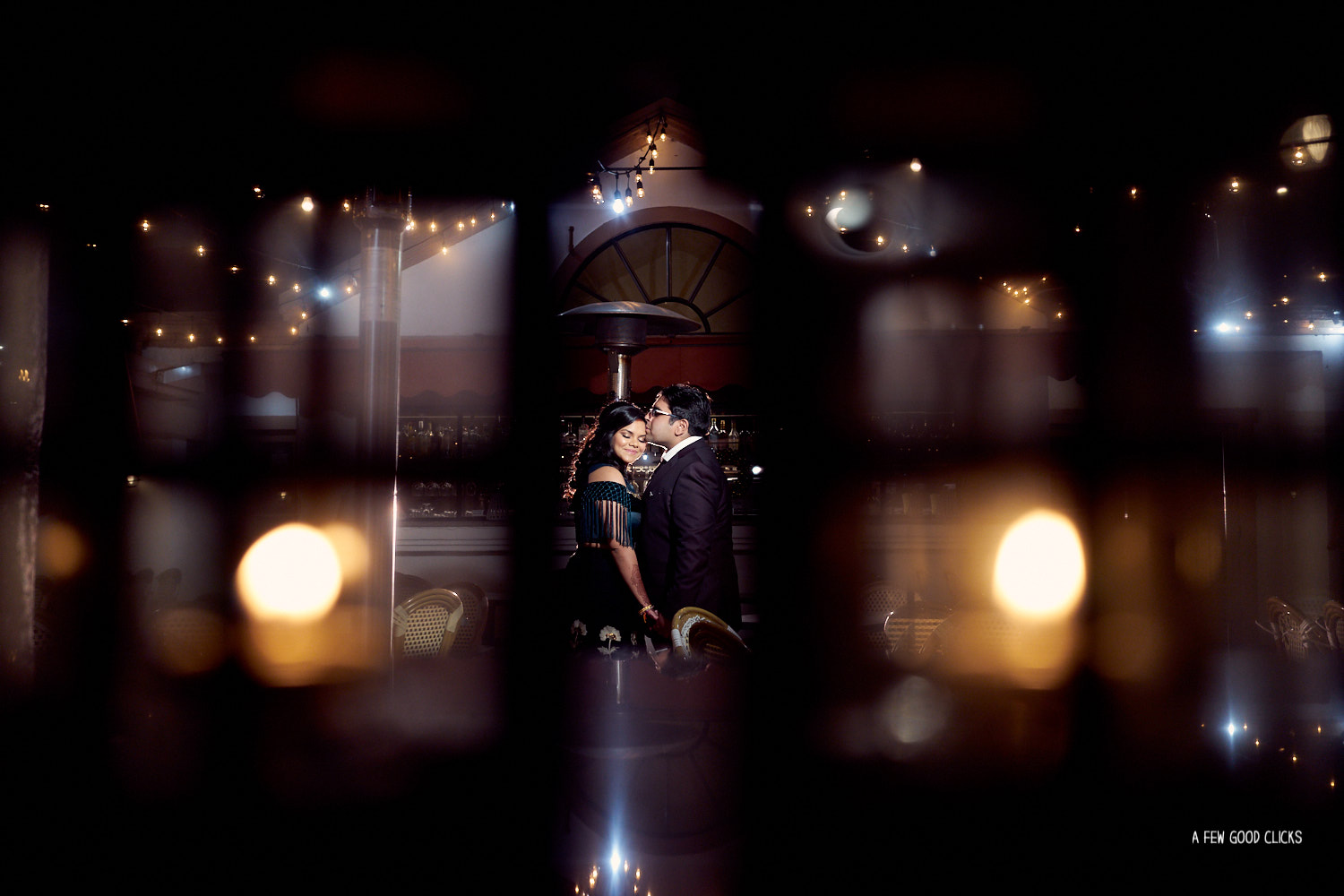Epic  portraits of Bride & Groom  just before the wedding reception at Amber India, Los Altos.