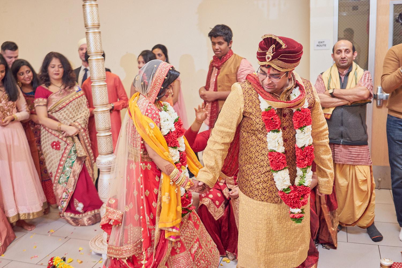 Seven vows ceremony.