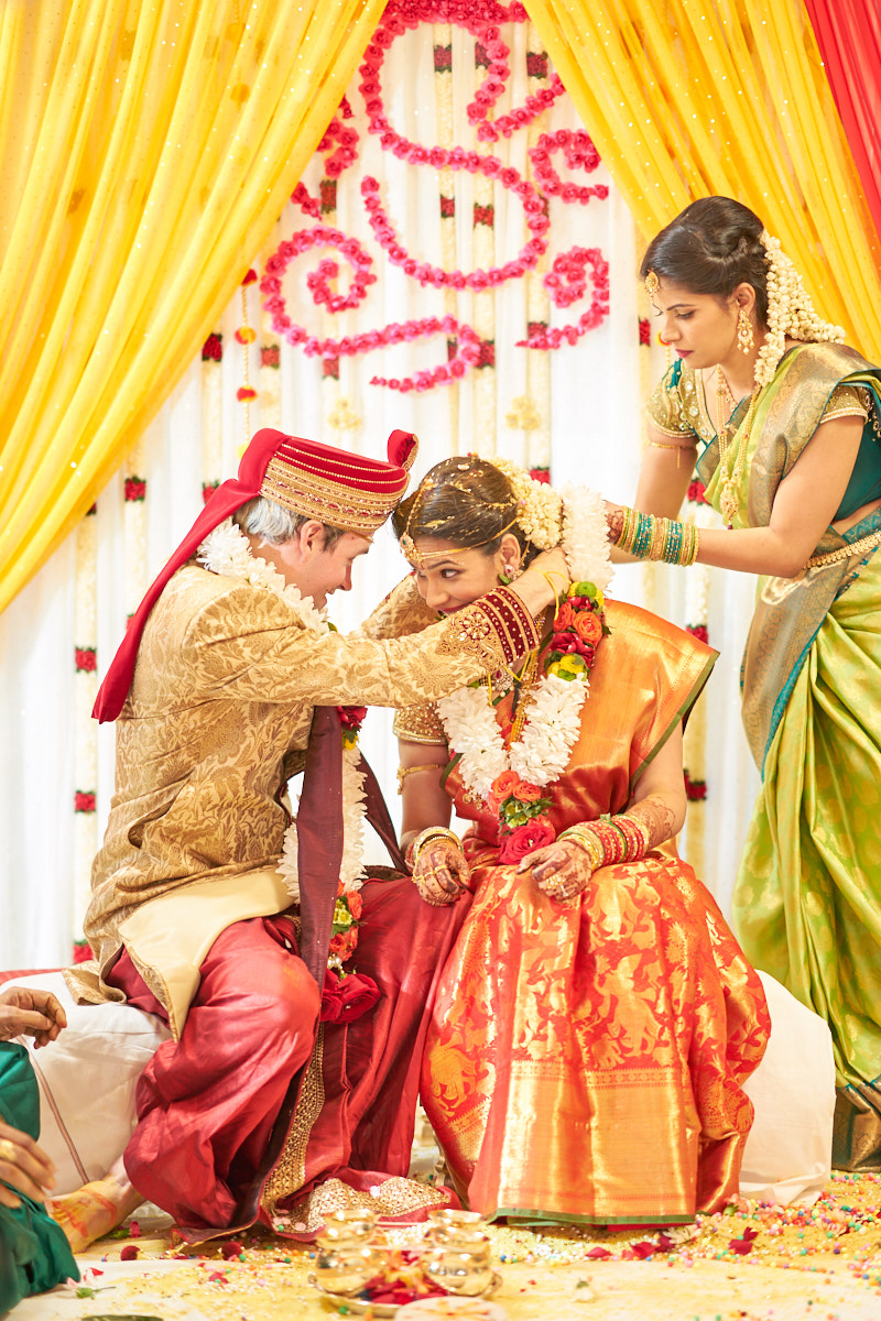 Mangalsutra ceremony picture.
