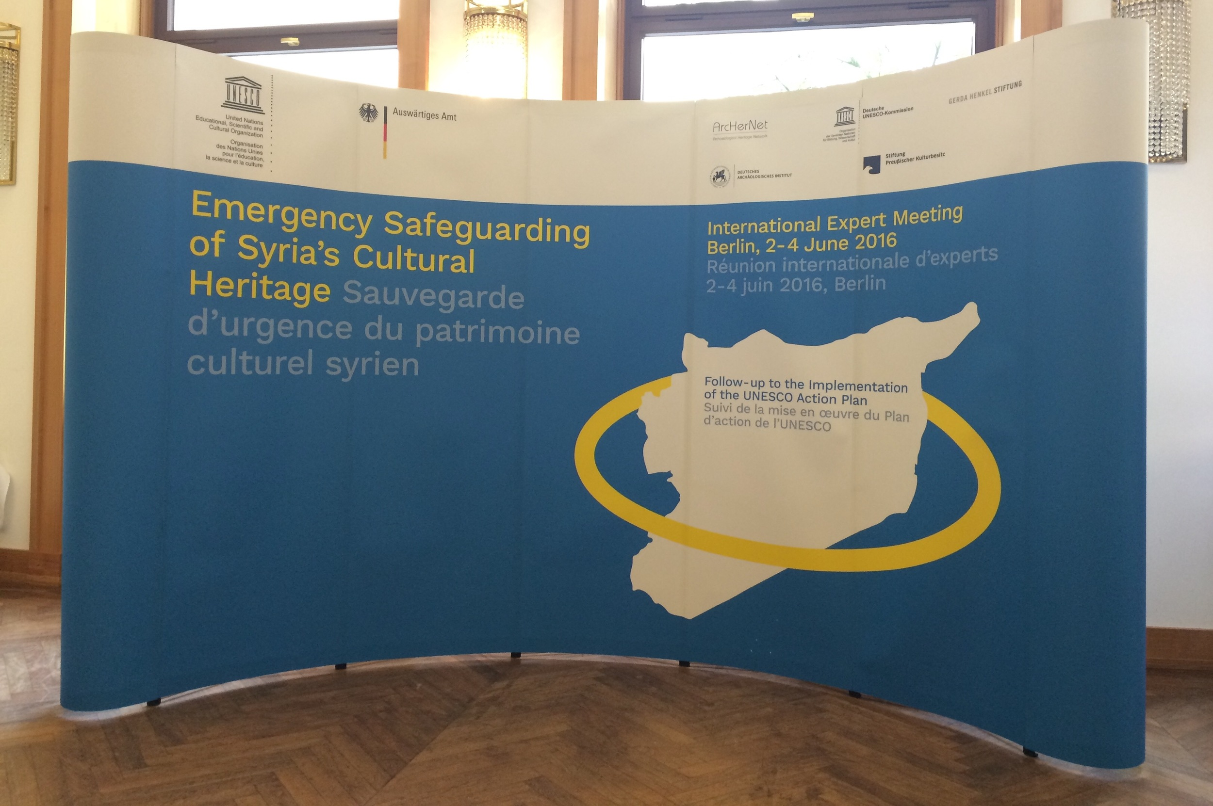 Emergency Safeguarding of Syria's Cultural Heritage, Berlin