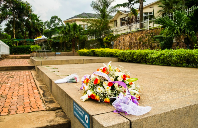 kigali genocide memorial, co-created by james smith