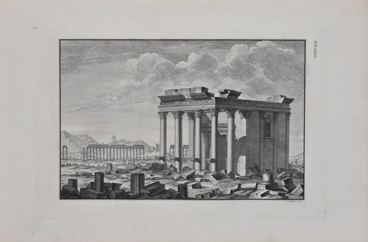 plate, woods & dawkins 'the ruins of palmyra