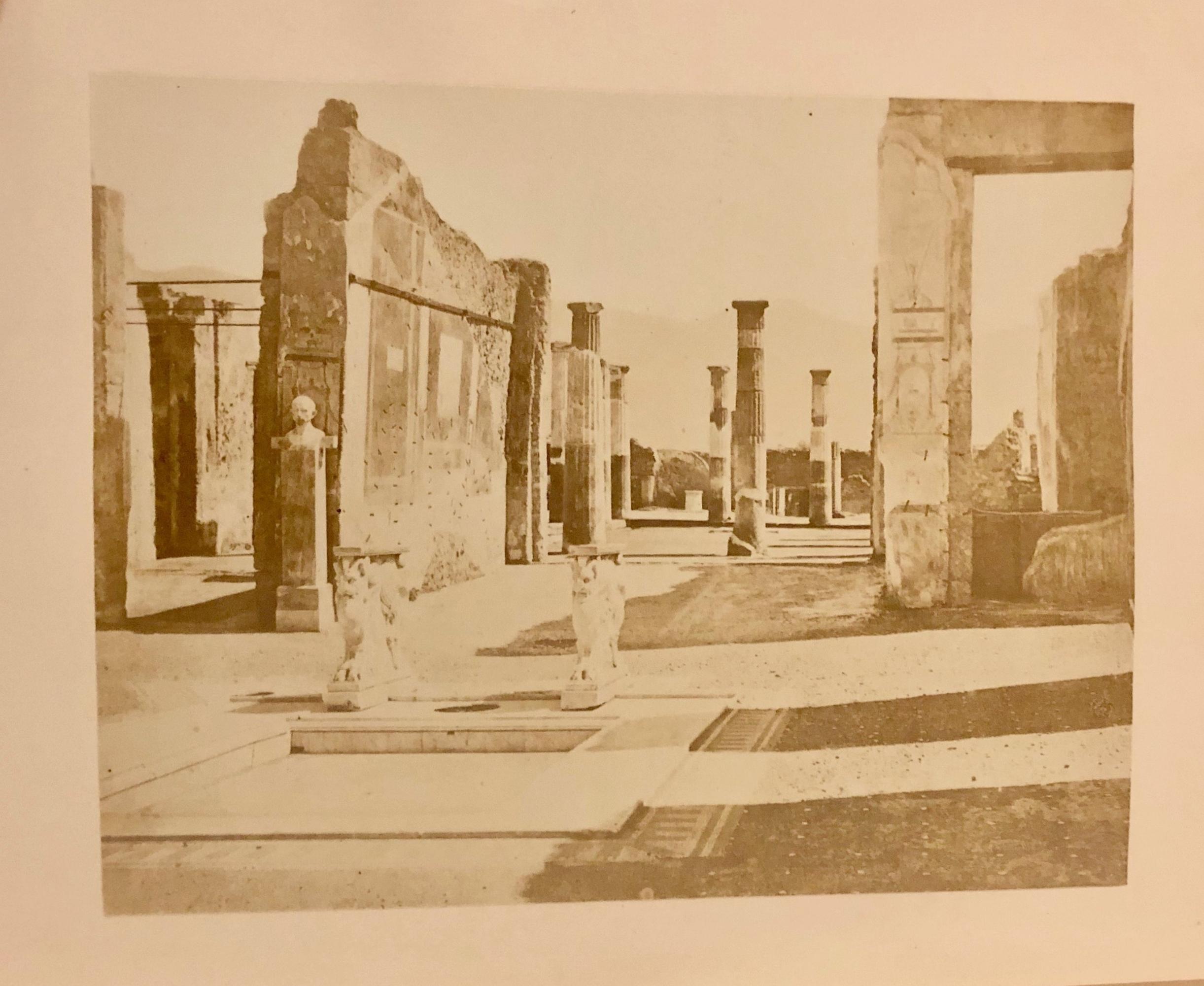 pompeii, in dyer's 'ruins of pompeii'