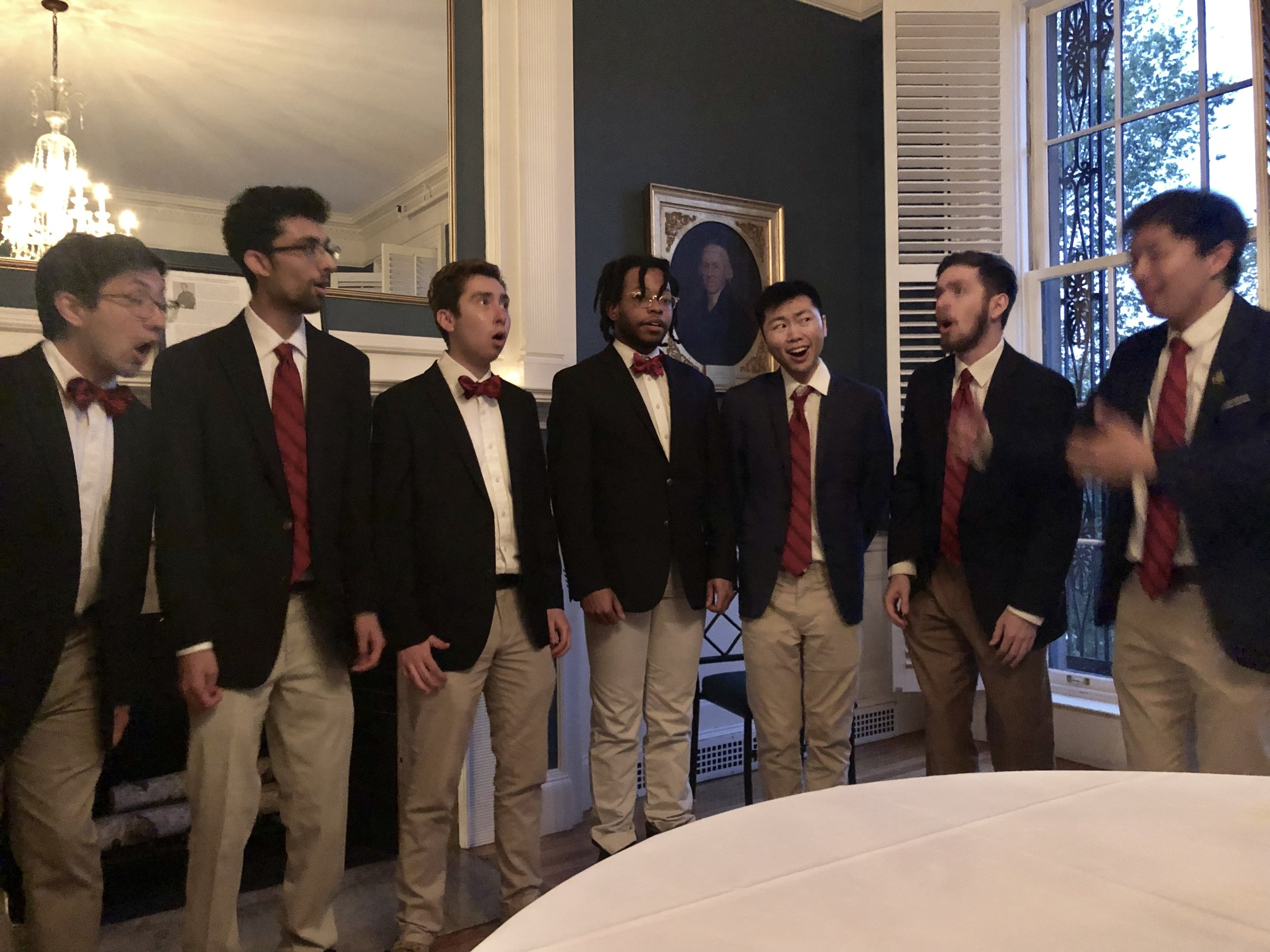 On May 24, 2019, the IDA hosted the Iconographic Society at the Union Club in Boston for a dinner and lecture on 18th century printing and binding innovator, John Howell.  Entertainment was provided by the Harvard Glee Club.
