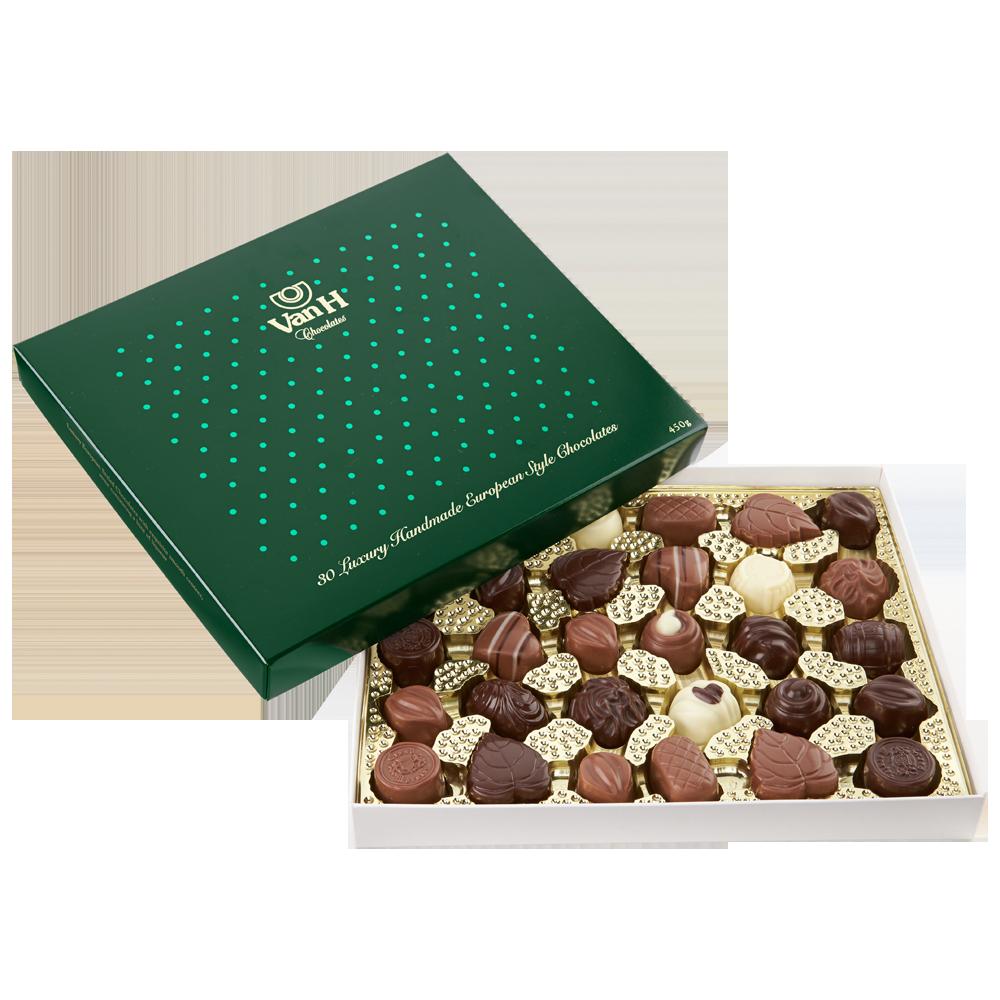 Green Dot Gift Box