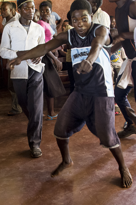 Smart, one of our secondary school students, kills it on the dance floor. The Thuchila Hope Center children are the most fantastic dancers.