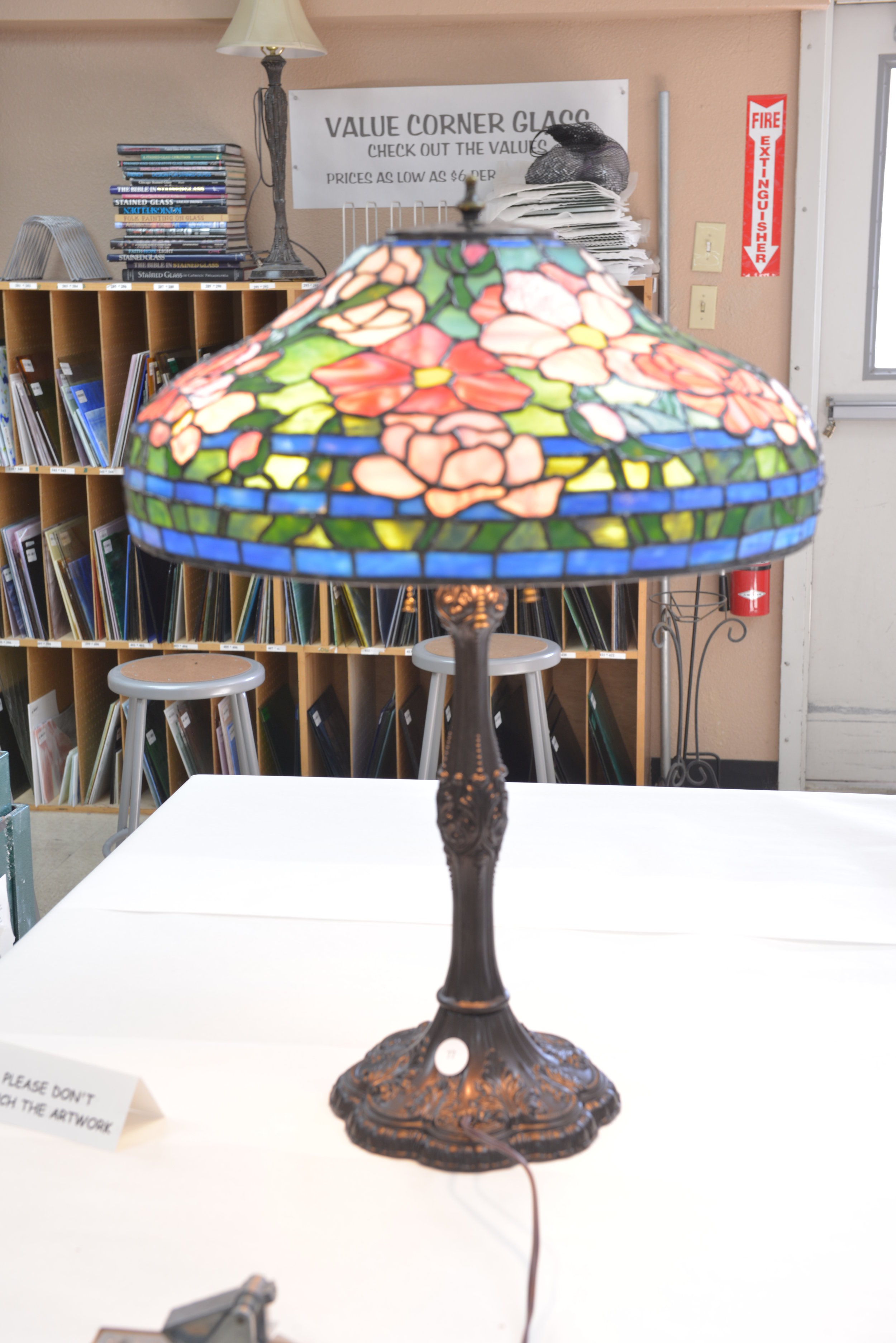 Glass Lamps - 2nd Place